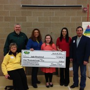 Winner presentation for North Dakota Cabbage Program